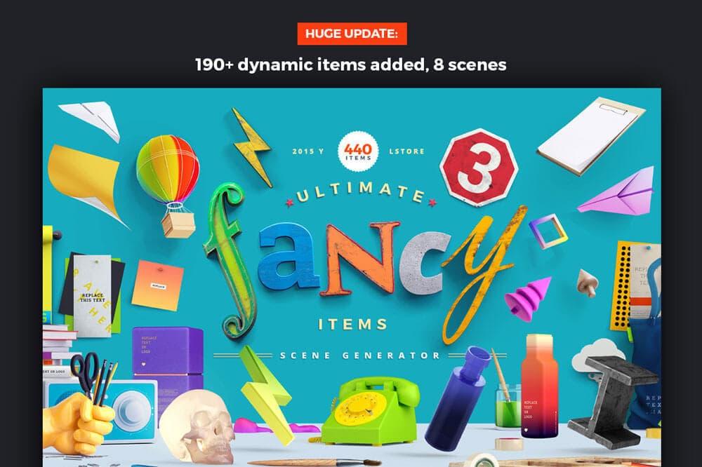 Fancy-Items-Scene-Generator