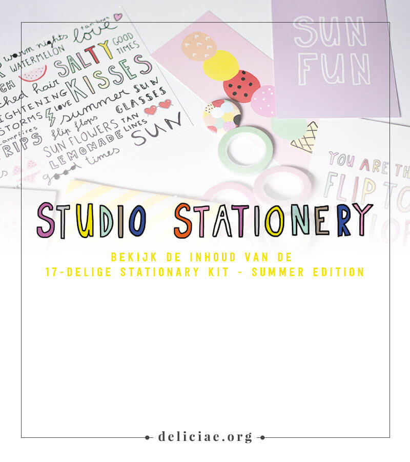 Stationary Kit – Summer Edition van Studio Stationary