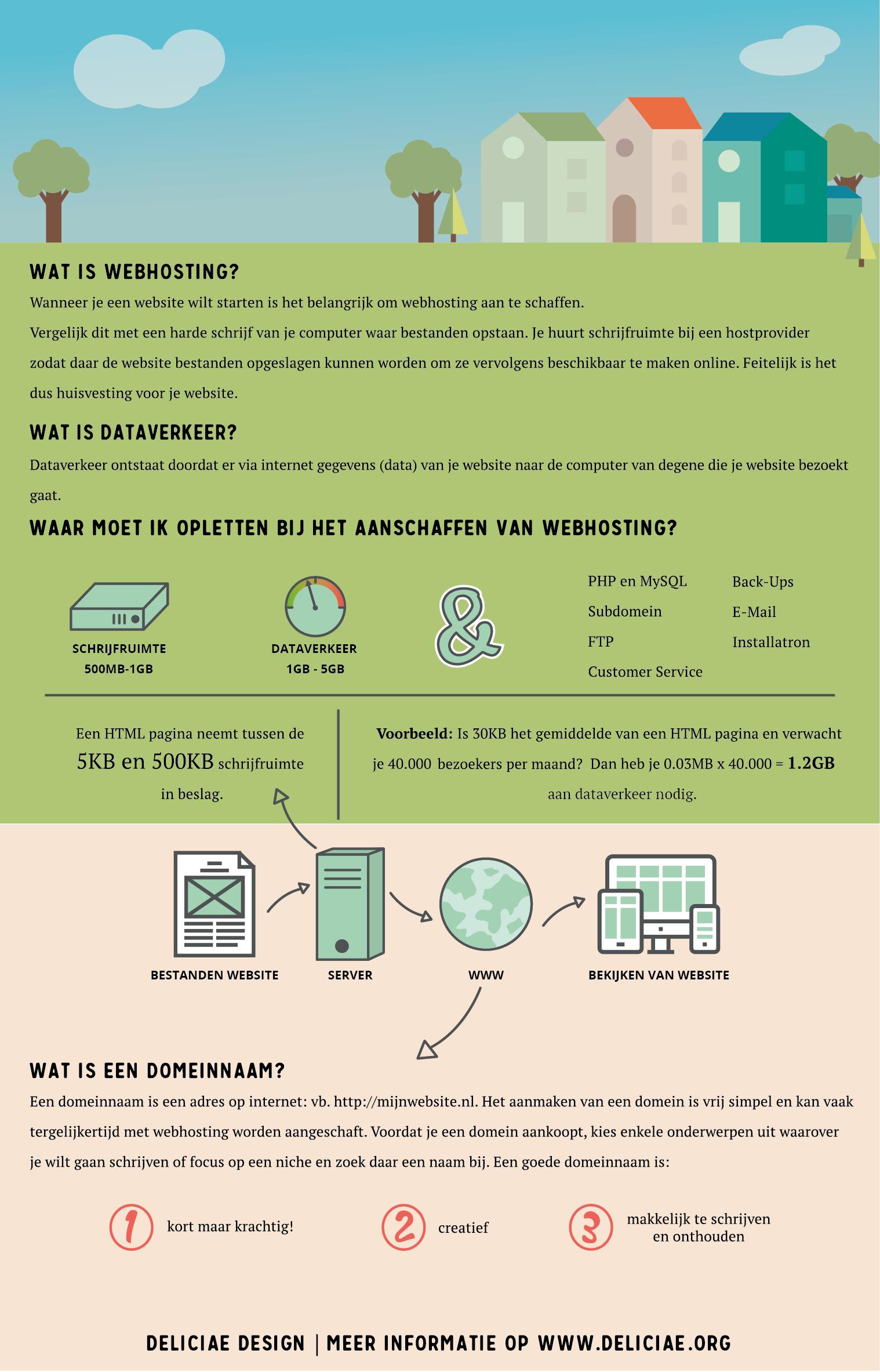 Infographic Webhosting