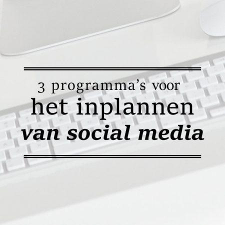 inplannen-social-media