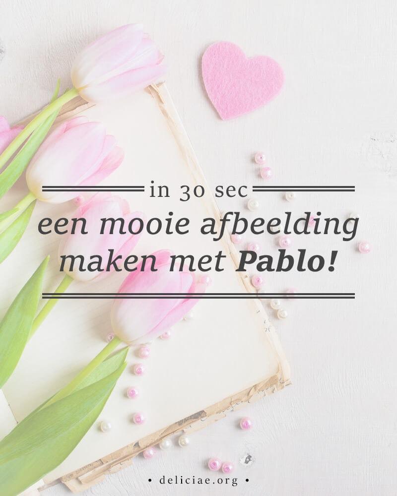 Meet Pablo! Ontwerp binnen 30 seconden een mooie afbeelding voor je blog