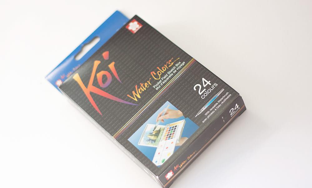 koi-waterverf-box