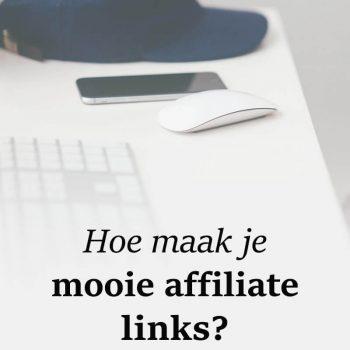 Maak mooie affiliate links