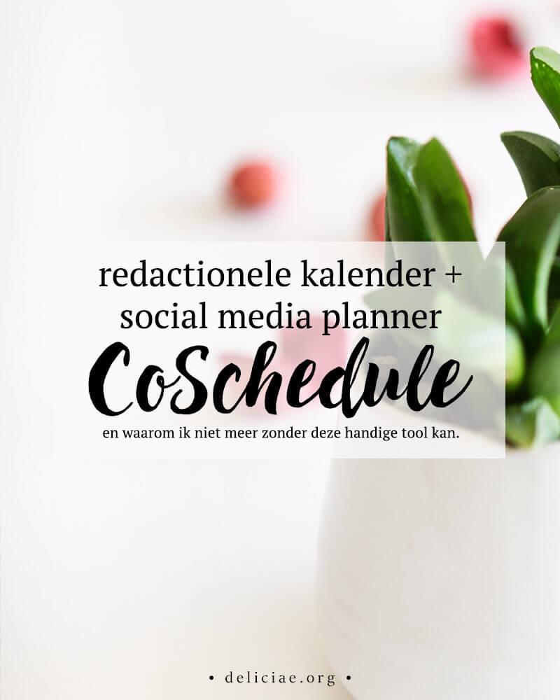 CoSchedule – redactionele kalender en social media tool