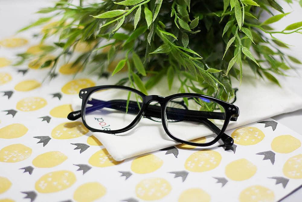 Computerbril van Polette