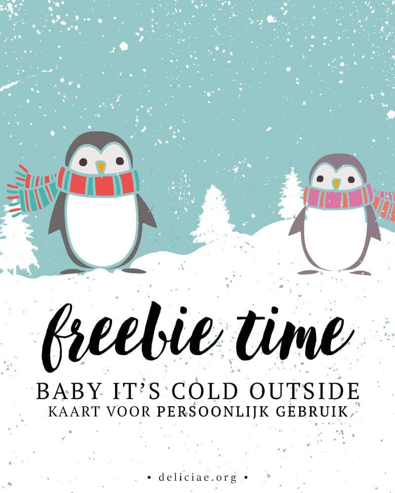 Freebie Time: Baby It's Cold Outside