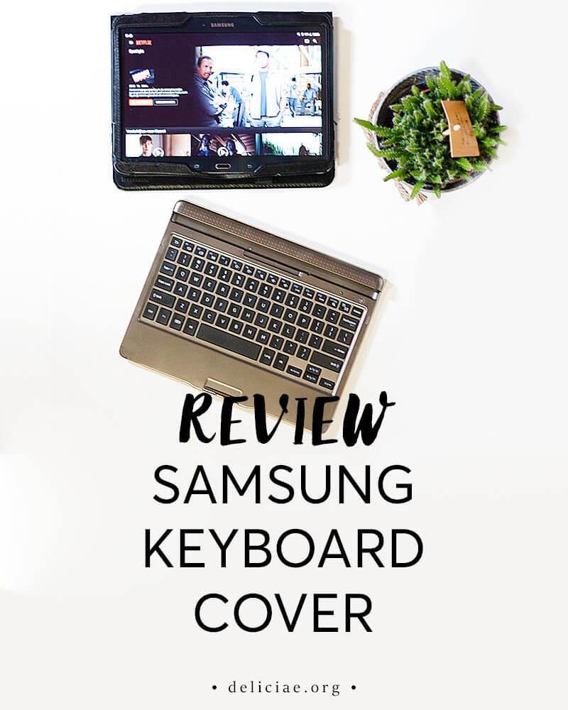 Samsung Toetsenbord Book Cover voor Samsung Tab 4.0