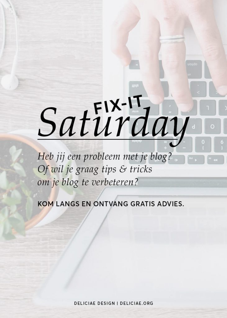 Fix-It Saturday #10