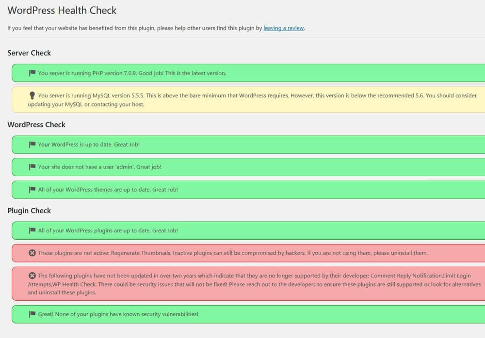 wp-health-check