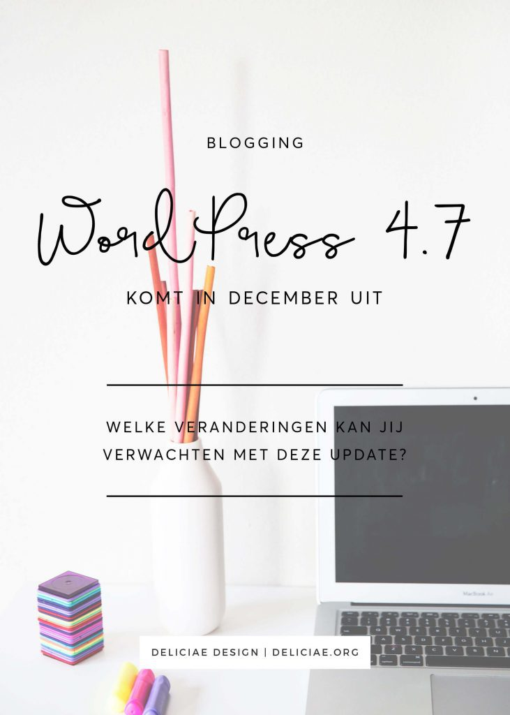 WordPress 4.7 – veranderingen in de visuele editor