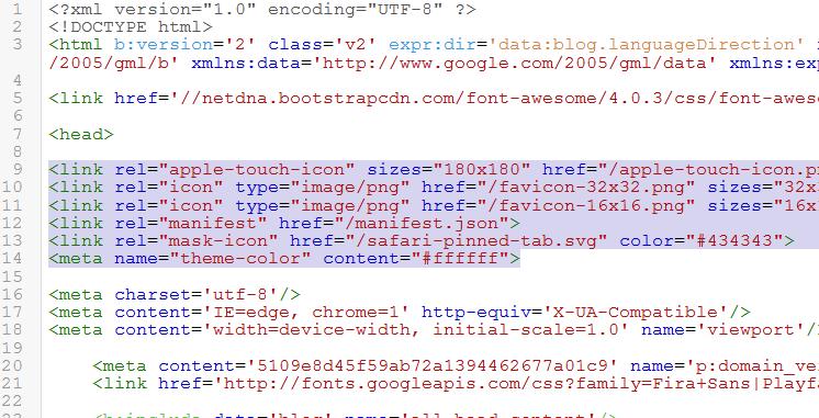 favicon-code-html-blogger