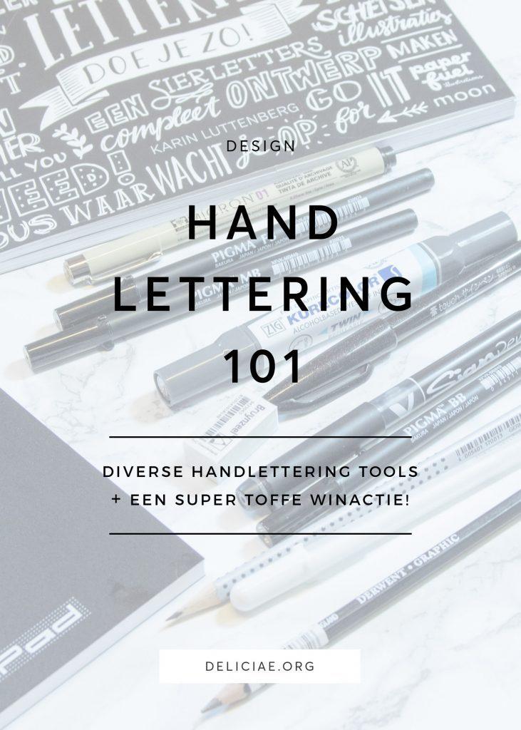 Handlettering Tools + Winactie!