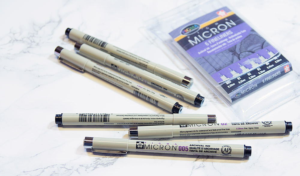 micron-fineliners