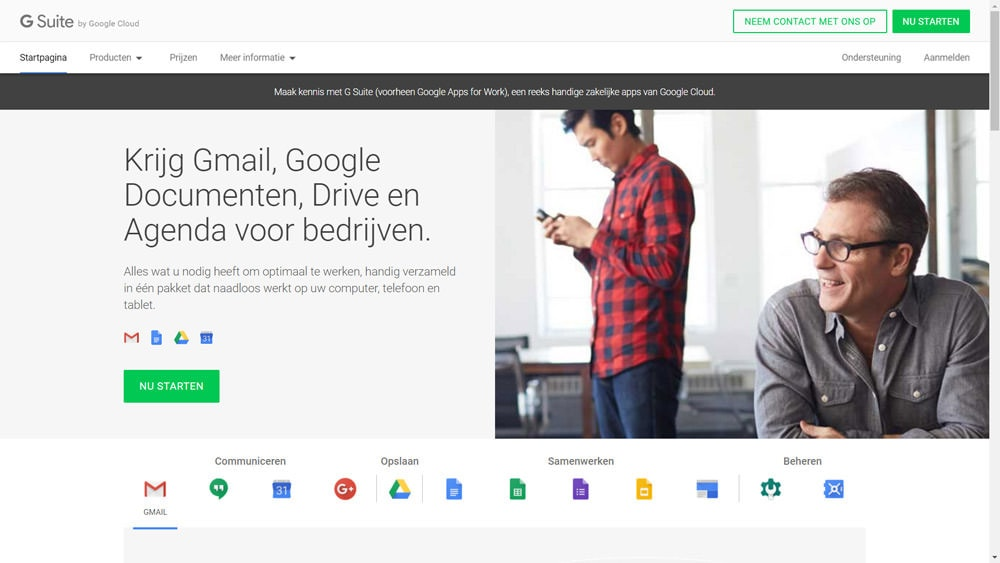 G Suite Install